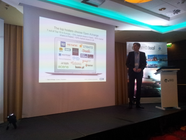 Stephan wspomina o współpracy z home.pl w ramach rozwiązania Open-Xchange. Od 2009  do 2013 roku OX urósł od 8 do 60 milionów użytkowników Open-Xchange.