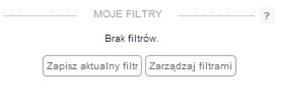 Możliwość zapisania zdefiniowanych filtrów