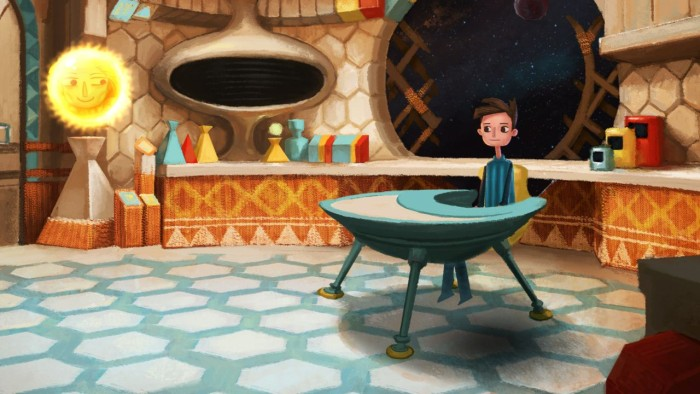 Screen z gry Broken Age