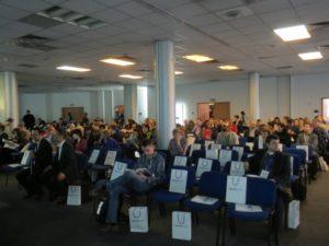 To zdjęcie sprzed 20 minut - obecnie sala jest pełna.