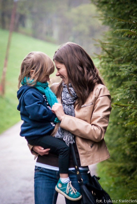 Sandra, Młodszy Konsultant Wsparcia Technicznego (córka Gabriela lat 2,5)