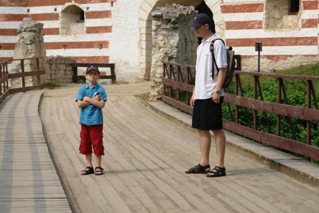 Marcin (CEO) wraz z synem.