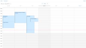Zmiany w aplikacji kalendarza