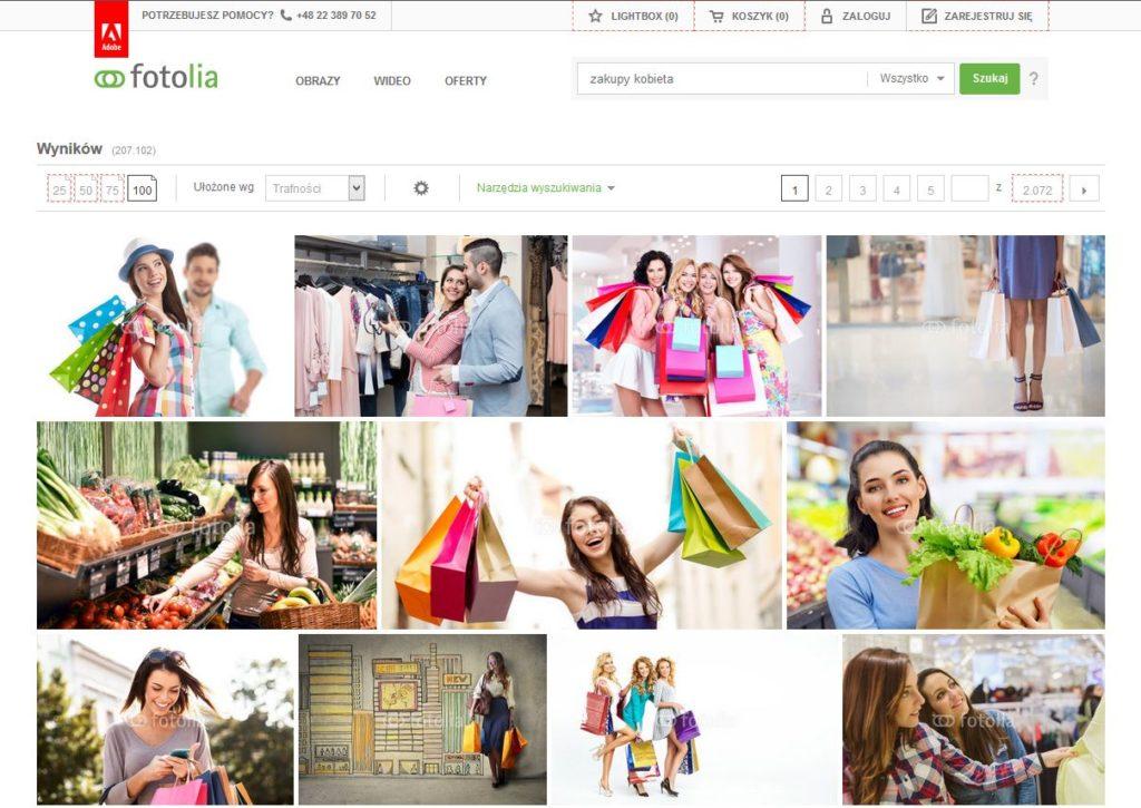 Szukaj zdjęć_ zakupy kobieta-homepl fotolia