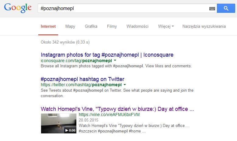 FireShot Screen Capture #1652 - '#poznajhomepl - Szukaj w Google' - www_google_pl_search_q=#poznajhomepl&ie=utf-8&oe=utf-8&gws_rd=cr&ei=NHbEVe2oOcb4ywOatImICQ