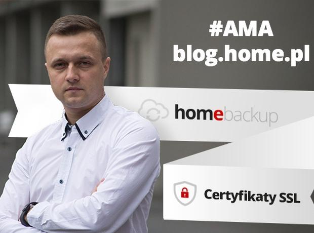 Zapytaj nas o bezpieczeństwo danych – AMA blog.home.pl #3