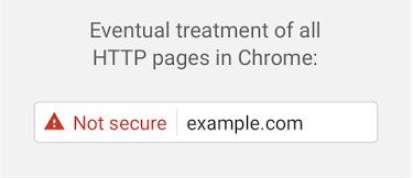 Google Chrome i nowe oznaczenie http