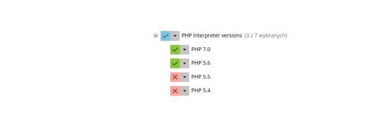 Plesk Panel – jak zainstalować inną wersję PHP?