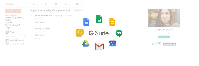 Czym G Suite różni się od Gmail?