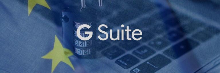 G Suite i RODO – jak Google zapewnia bezpieczeństwo danych?