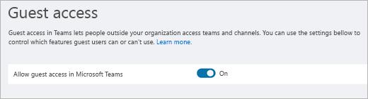 Udostępnianie chata dla gości - Microsoft teams