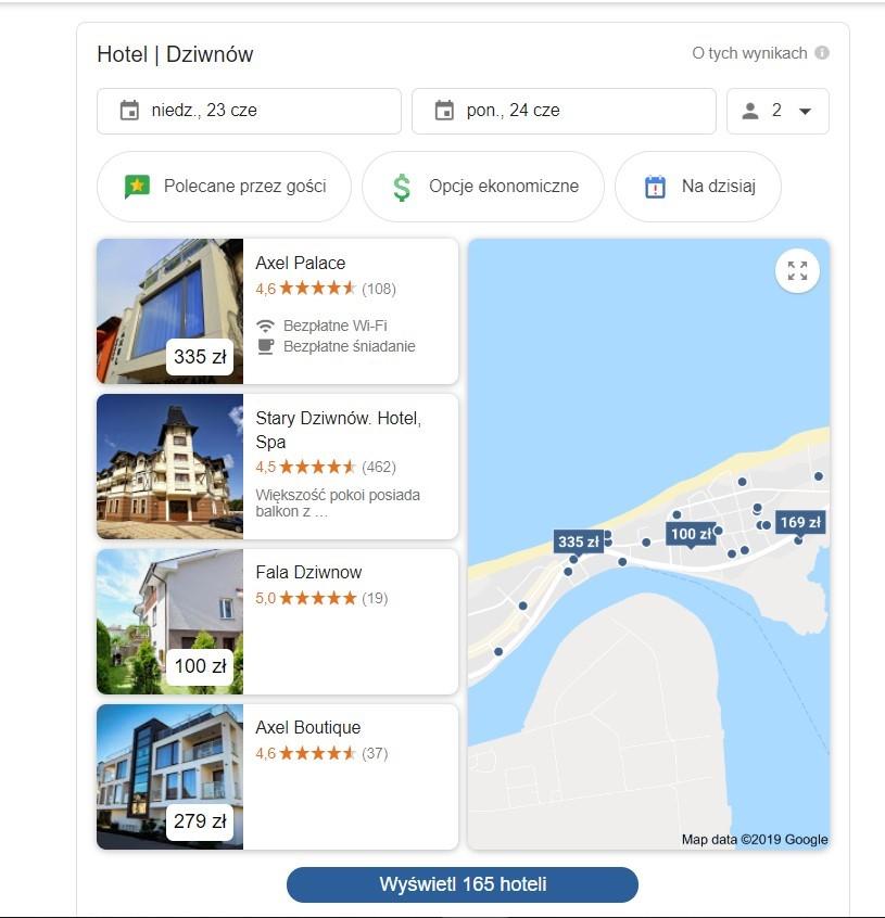 Pozycjonowanie strony WWW hotelu nad morzem