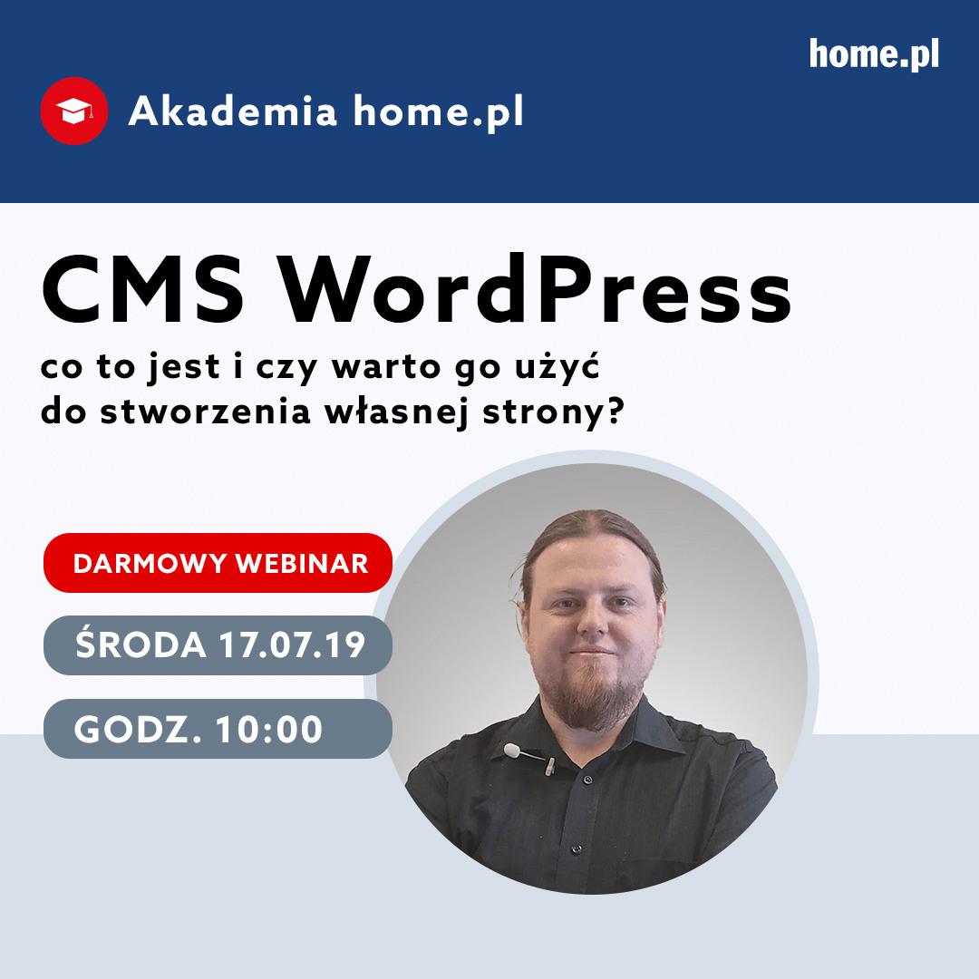 Bezpłatny webinar - co to jest WordPress