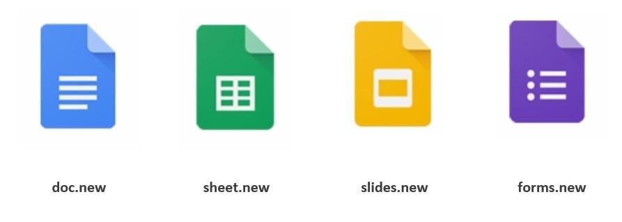 Tworzenie nowych plików w G Suite