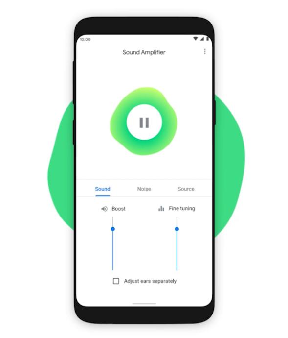 Sound Amplifier w Android 10 - lepsza jakość dźwięku