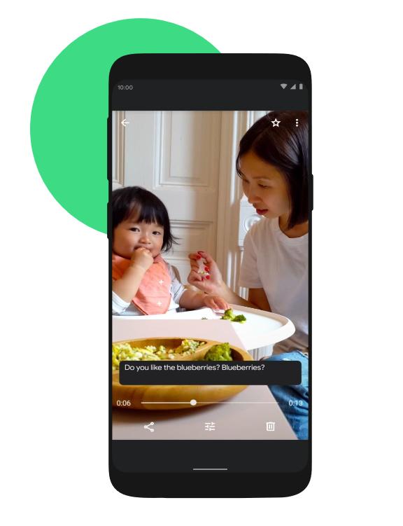 Dodawanie napisów z tłumaczeniem w filmach na Android 10