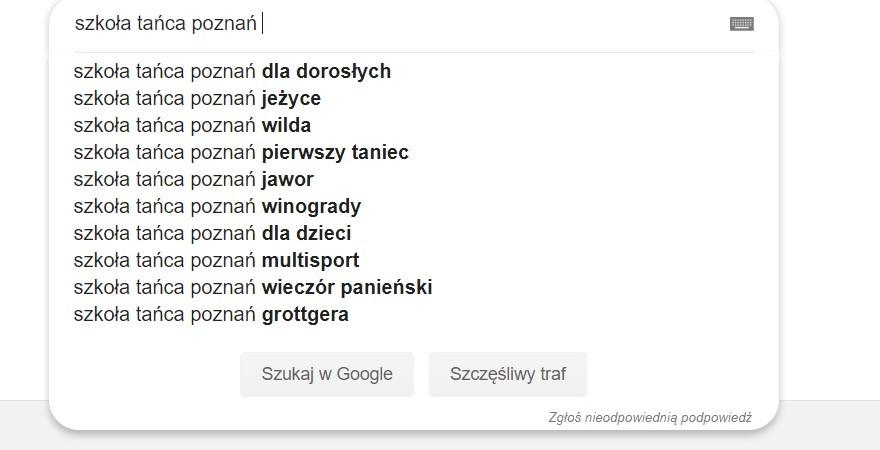 Pozycjonowanie strony WWW Poznań