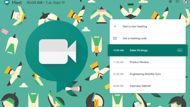 Google Hangouts Meet: nowe motywy graficzne dla komunikatora w G Suite