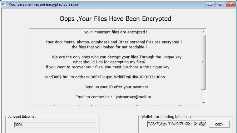 Ransomware Yatron i FortuneCrypt – Kaspersky znalazł rozwiązanie ?
