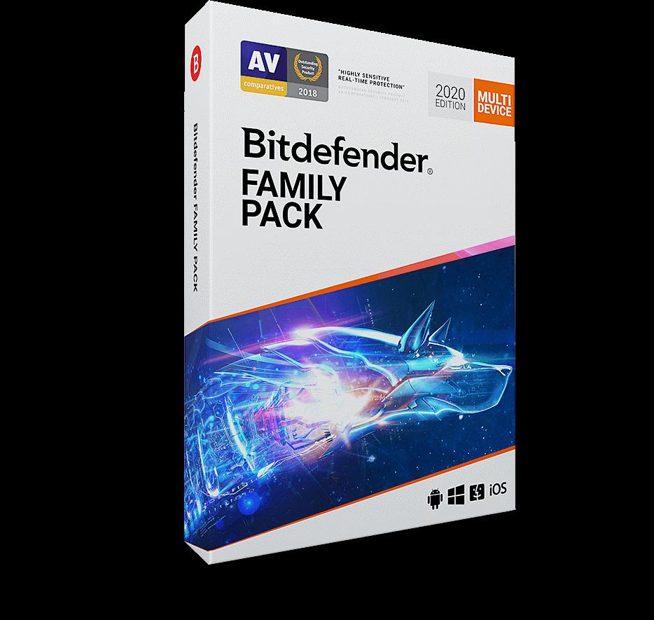 Polecany antywirus dla rodziny na 2020 rok - Bitdefender Family Pack