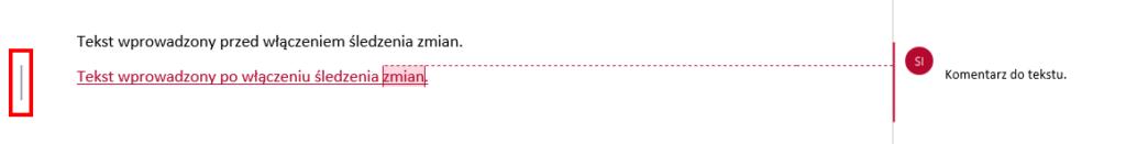 Wyświetlanie komentarzy w MS Word