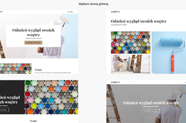 Kreator WWW home.pl - tworzenie strony internetowej