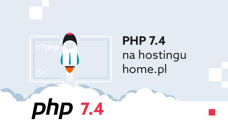 PHP 7.4 na hostingu home.pl