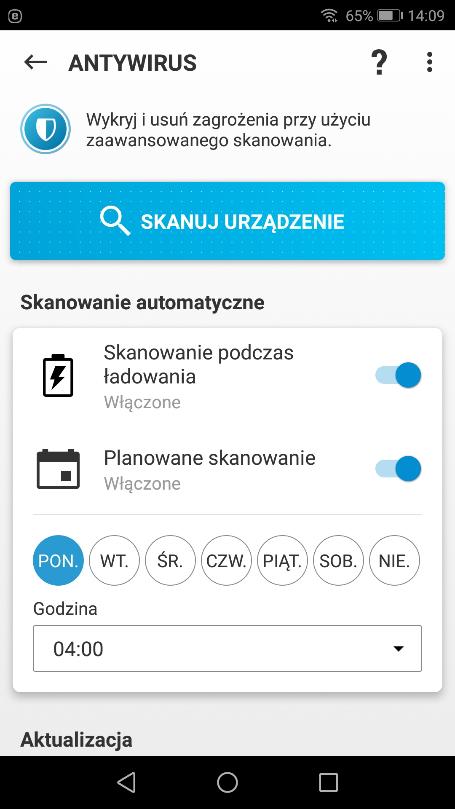 Antywirus Eset na Androida