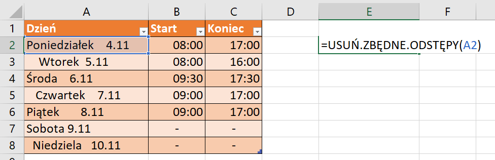 Excel - poradnik dla początkujących