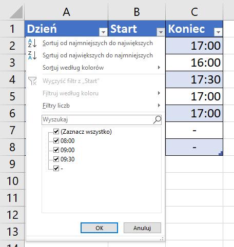Office 365 - poradnik Excel