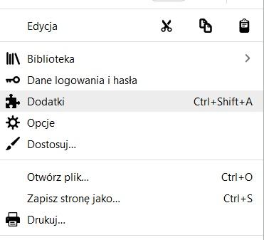 Jak zainstalować rozszerzenie w Firefox