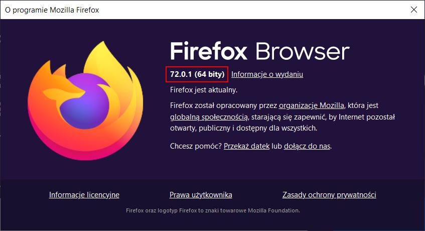 Jak zaktualizować Firefox?