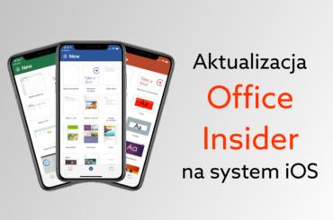 Apple otrzymuje nową aktualizację pakietu Office w programie Insider