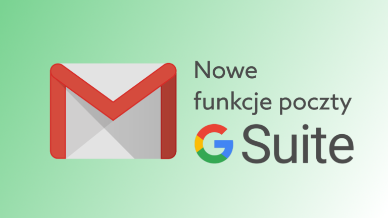 G Suite: nowe filtry wiadomości oraz informacja o nieobecności w Gmail