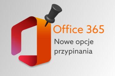 Nowość w Office - administratorzy przypną aplikacje