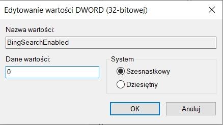 Naprawianie wyszukiwarki w Windows 10