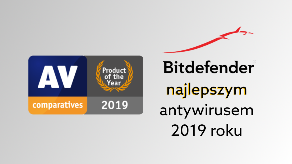 Antywirus Bitdefender produktem roku 2019 wg niezależnego instytutu AV-Test