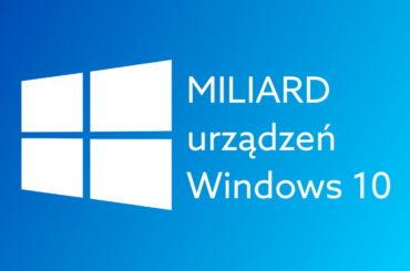 Ile urządzeń z Windows 10