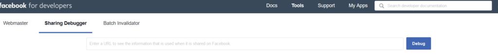 Debugowanie i usuwanie błędów w podglądzie adresu na facebooku