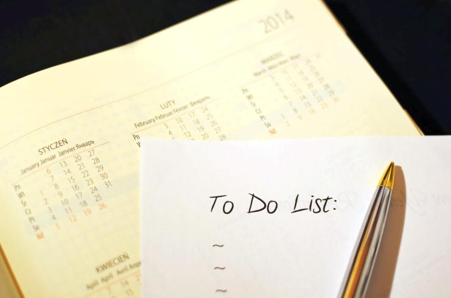 Organizowanie pracy zdalnej - lista zadań do wykonania