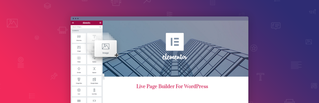Edytor wizualny do WordPressa, Elementor Page Builder