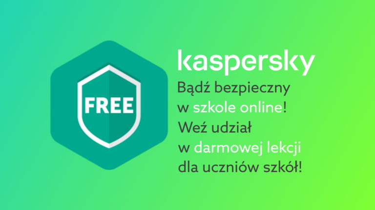 Jak zadbać o bezpieczeństwo podczas nauki online? Kaspersky wspiera polskich uczniów!