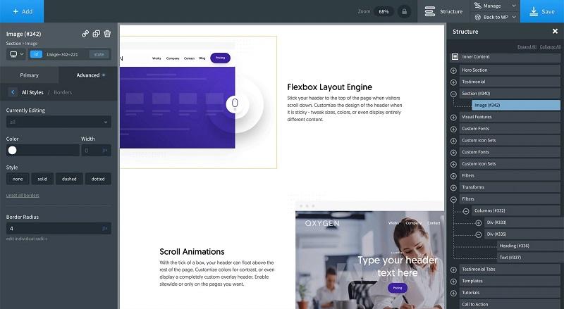 Page Builder Oxygen - tworzenie stron WWW w WordPressie