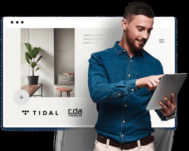 Dostęp do TIDAL Premium oraz CDA Premium