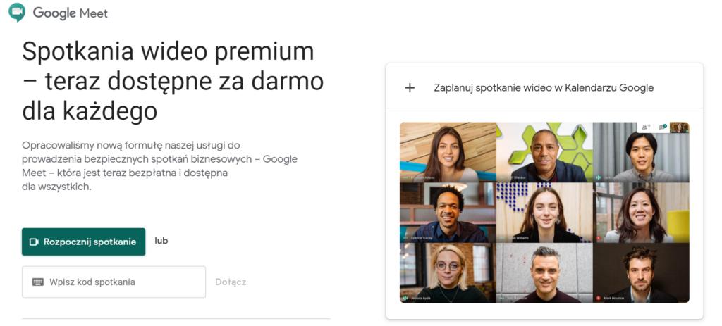 Jak uzyskać bezpłatny dostęp do Google Meet