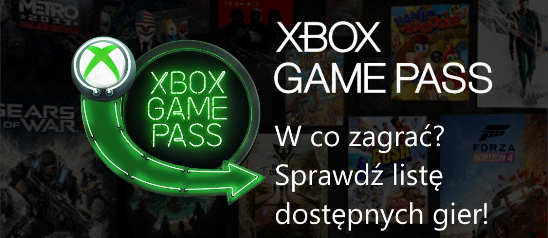 Co nowego i jakie gry zostają usunięte z Game Pass?
