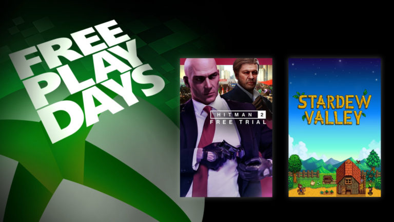Hitman 2 i Stardew Valley za darmo w ten weekend na Xbox One!