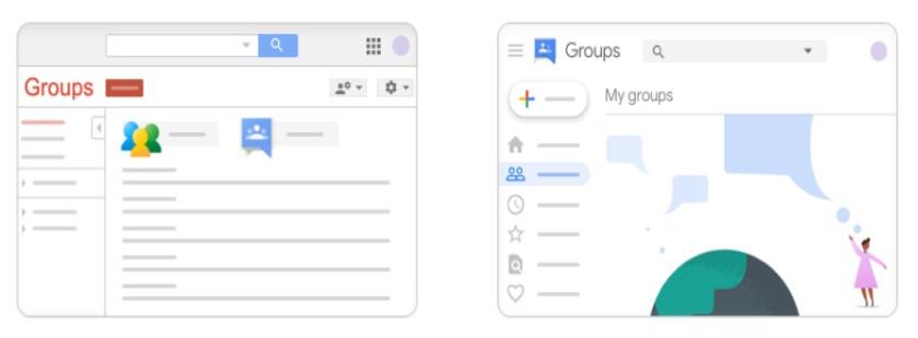 Kiedy nowe Grupy Google?