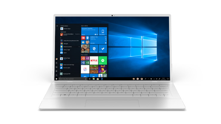 Windows 10 Home  - wersja na domowy komputer