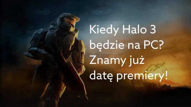 Znamy datę premiery Halo 3 na PC w Game Pass, Microsoft Store i Steam!
